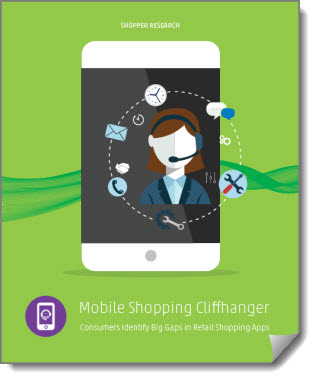 Mobile Shopping Cliffhanger customer research report