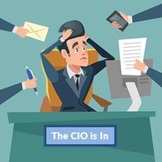 CIO is in