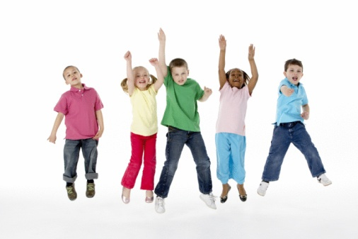Kids Jumping for Joy over Government Shared Services IVR