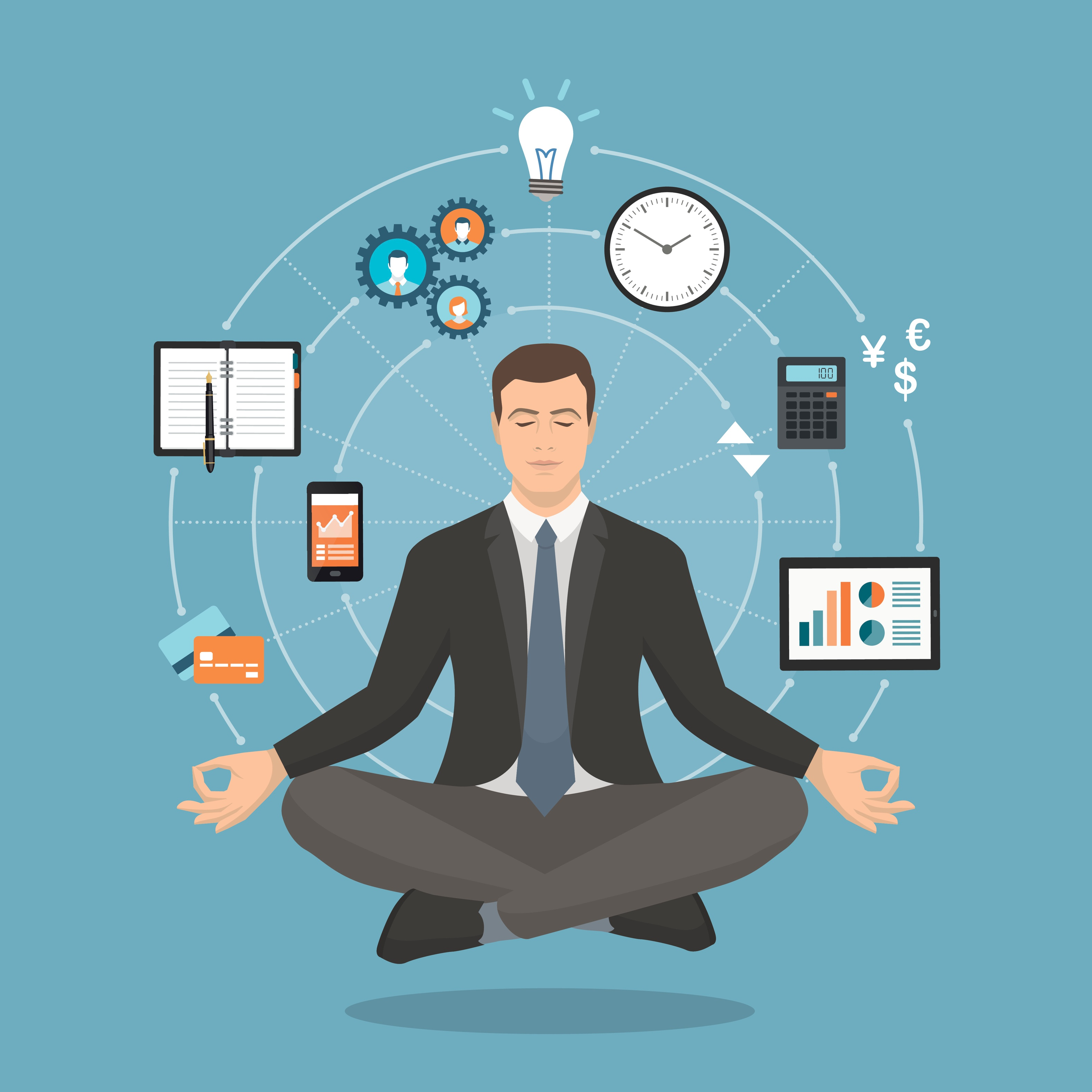 turn WFO and IVR mindfulness into action