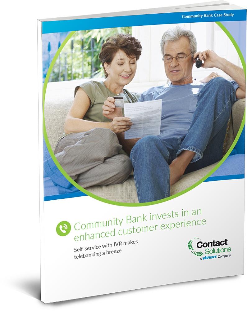 Community Bank IVR Case Study