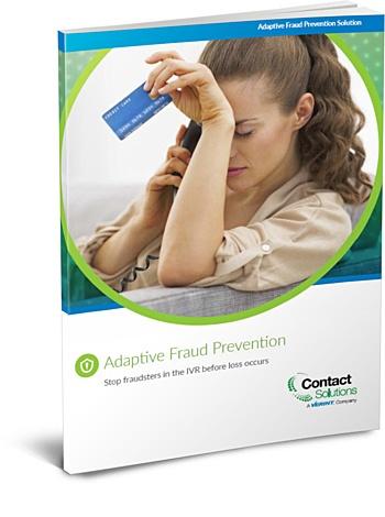 Adaptive Fraud Prevention