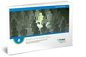 Adaptive Personalization ebook - Personalized IVR