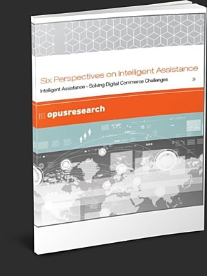 Opus Six Perspectives on Intelligent Assistance