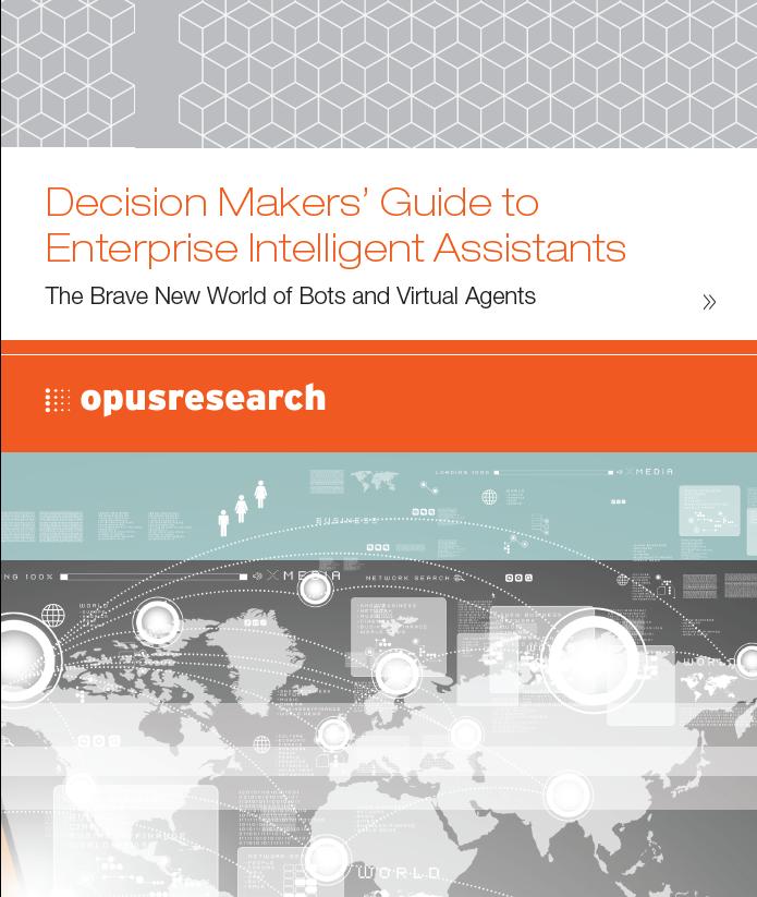 Decision Makers' Guide to Enterprise Intelligent Assistants