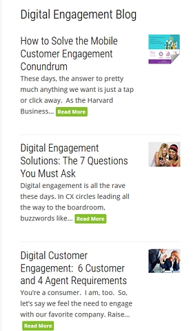 Digital Engagement Blog