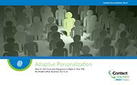 Adaptive Personalization - Personalized IVR