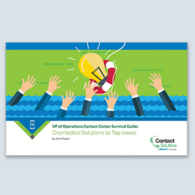 VP Operations Contact Center Survival Guide