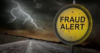 contact center fraud alert