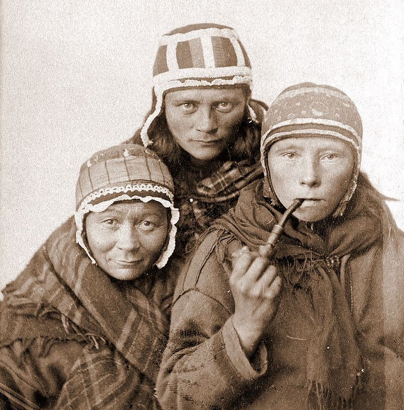 Sami Women (wikipedia) who look like they might be contemplating NLU use cases
