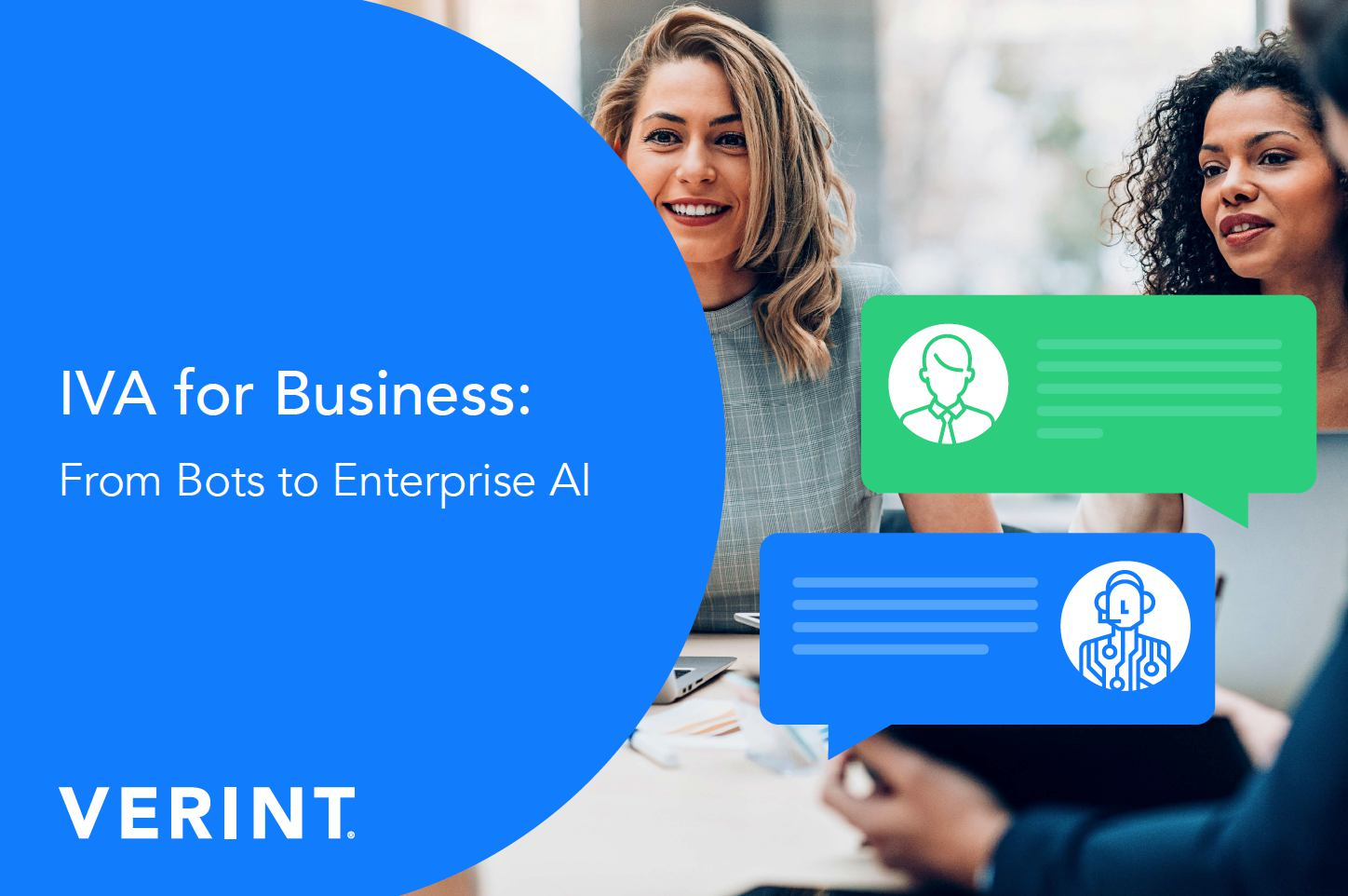 Verint IVA for Business from Bots to Enteprise IVA ebook